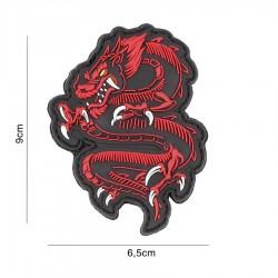 Patch 3D Dragon Rosu 101 Inc