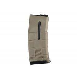 Incarcator MidCap 120 bile Tan/Negru ICS