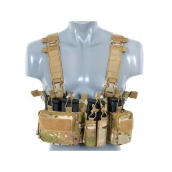Chest Rig Buckle Up Recce / Sniper Multicam 8Fields