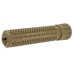 Amortizor QD cu Supresor Flama Tan 180 mm GK Tactical