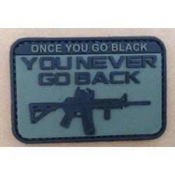 Patch Pvc 3D You Never Go Back