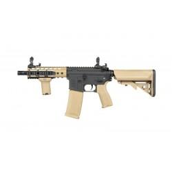 Replica M4 SA-E12 EDGE™ Negru / Tan Specna Arms