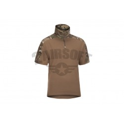 Bluza Combat Maneca Scurta Multicam Invader Gear