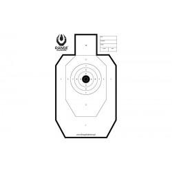 Set 50 Bucati Tinte Hartie Range Shooting