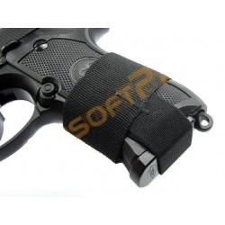 Elastic Siguranta Incarcator Pistol Negru