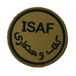 Patch ISAF Tan