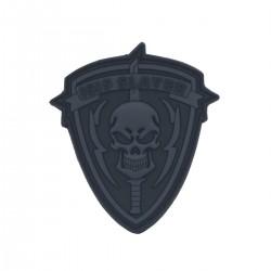 Patch Slayer Gri-3D