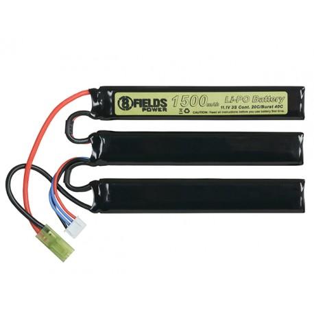 Baterie Lipo 1500 Mah 11.1 V 20-40C [1+1+1] 8Fields