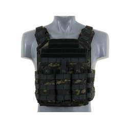Vesta Tactica First Responder Plate Carrier Multicam Black 8Fields