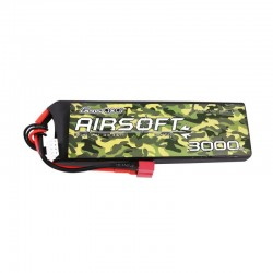 Baterie LiPo 3000 mAh 11.1V 25-50C Gensace
