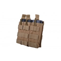 Buzunar Universal Triplu Open Top Coyote GFC Tactical