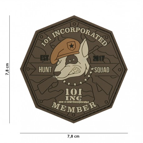 Patch 3D Hunt Squad Bown 101 Inc