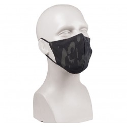 Masca Fata V-Shape PES/EL Multitarn® Black Miltec