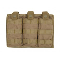 Pouch Incarcatoare Triplu Easy Access Coyote 8Fields