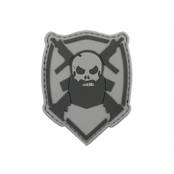 Patch Bearded Skull