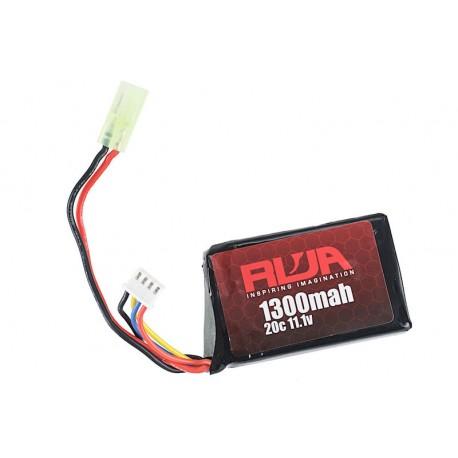 Baterie LiPo 1300mAh 20C 11.1V PEQ Type RWA