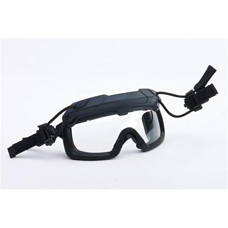 Ochelari Tactici Fast Helmet Gri Transparenti TMC