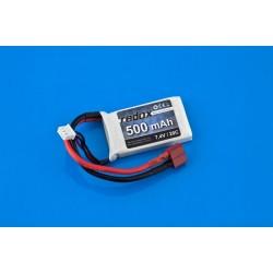 Baterie Lipo 7.4 V 20 C 500 mAh