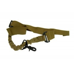 Sling Tactic 1 punct Bungee Coyote Brown 8Fields