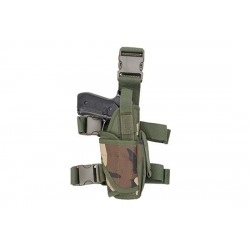 Holster Universal Picior Woodland GFC Tactical