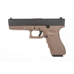 Replica Glock R17 Army Tan/Negru
