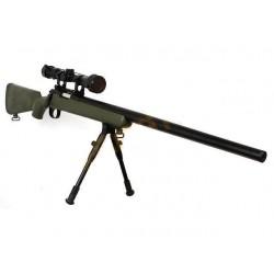Replica Sniper MB03 Well Olive cu Bipod si Luneta