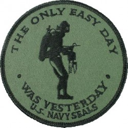 Patch The only Easy Day Fostex