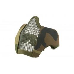 Masca EVO Woodland Pentru Casca FAST Ultimate Tactical