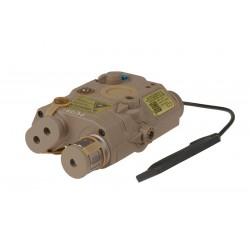 Replica Laser Sight LA-5/PEQ Tan Element