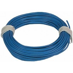 Cablaj PVC 1 fir Albastru 0.25 qmm