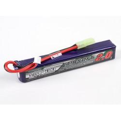 Baterie LiPo 2000mAh 7.4V 15-25C Nano Tech
