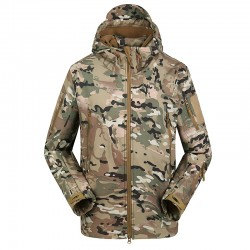 Geaca Outdoor Shark Skin Multicam