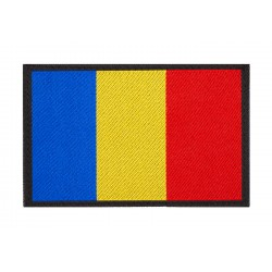 Patch Romania Tricolor Claw Gear
