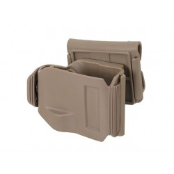 Holster Clips Glock G.17/ G.19/ G.22/ G.23 Tan ACM