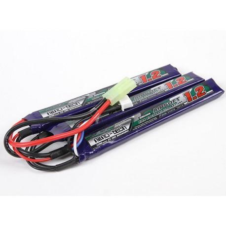 Baterie LiPo 1200mAh 11.1V 25-50C Nano Tech