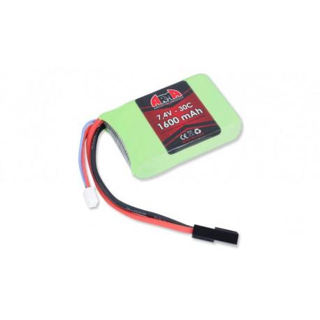 Baterie Lipo Arma Tech 7.4V 1600 MAh [1] 30C