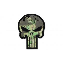 Patch Punisher Skull Pencott Green GEN II IR