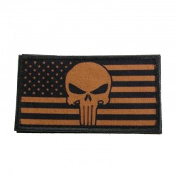 Patch Steag USA Punisher Tan
