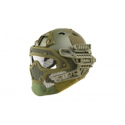 Casca FAST Gunner PJ Olive Ultimate Tactical