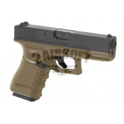 Replica Glock 19 Desert  GBB WE