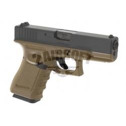 Replica Glock 19 Desert GBB WE