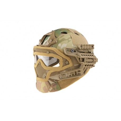 Casca FAST Gunner PJ Multicam Ultimate Tactical