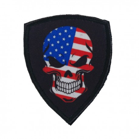 Patch US Skull