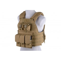 Vesta Tactica Plate Carrier Tan GFC Tactical