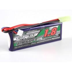 Baterie LiPo 1800mAh 7.4V 20-40C Nano Tech