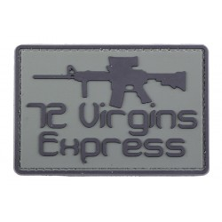 3D patch - 72 Virgins Express