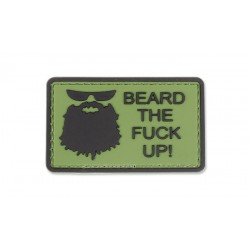Patch 3D Beard The F. Up Olive 101 Inc.