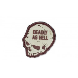 Patch Pvc Deadly As Hell Coyote 101 inc