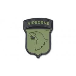 Patch Pvc 101St Airborne Olive 101 inc