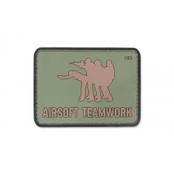 Patch Pvc Airsoft Teamwork Olive 101 inc
